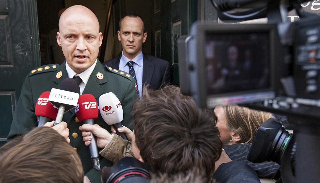 Den tidligere danske hærsjefen Hans-Christian Mathiesen ble idag dømt til 60 dagers betinget fengsel. Bildet er ikke tatt i forbindelse med rettssaken.