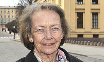 Anne-Karin Sønsteby ble bisatt onsdag