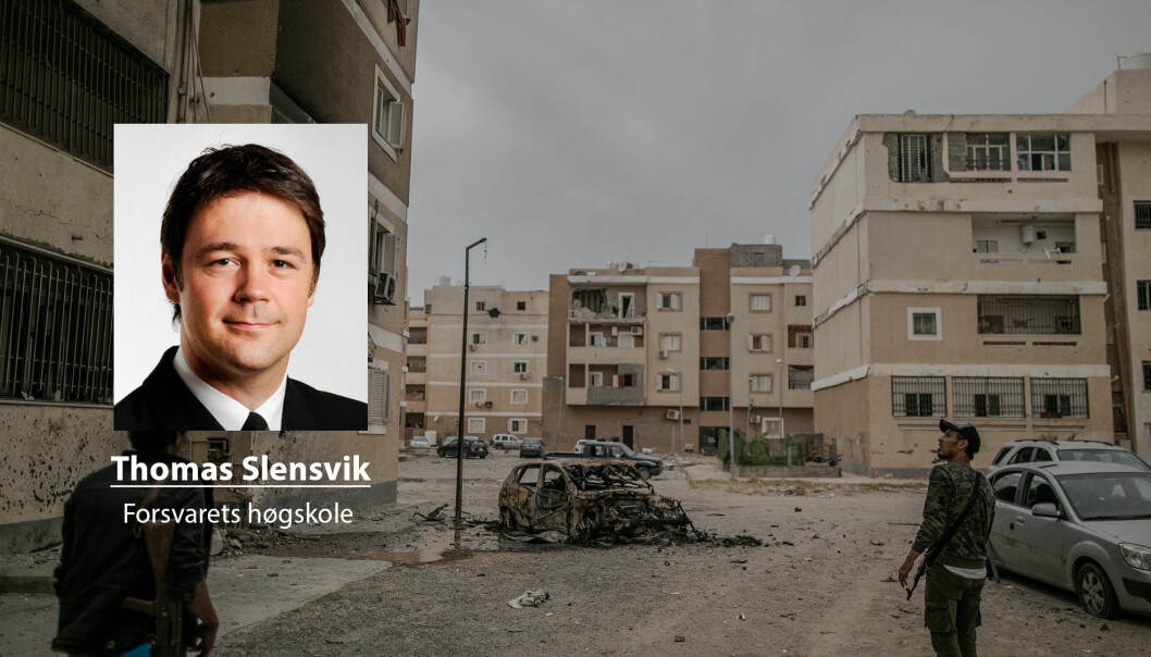 Vesten strømmet til med massive ressurser i 2011 for å «redde» Libya, men som i dag er et sted det ikke ofte snakkes høyt om, skriver Thomas Slensvik. Her ser vi soldater fra den FN-støttede regjeringen i hovedstaden Tripoli.
