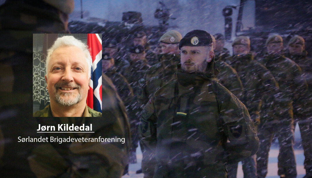 Skillet mellom tjeneste i utlandet og i Norge er kunstig, skriver Jørn Kildedal. Her ser vi soldater ved Porsangermoen i Finnmark.