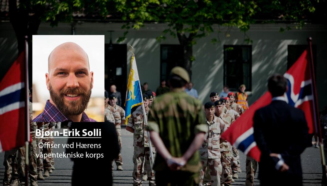 Dersom man har deltatt i en militær operasjon i krise eller krig er man veteran, skriver Bjørn-Erik Solli.