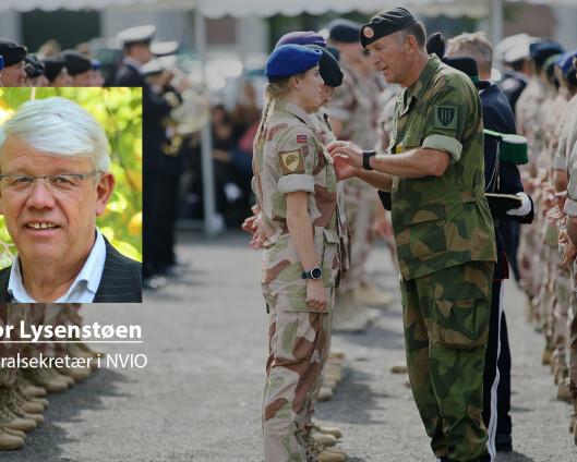 Veterandebatten: – En krevende tjeneste