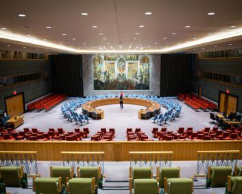 Frykter Norge vil få trøbbel med å si nei i Sikkerhetsrådet