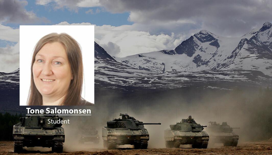 Politikerne har et ansvar for å vekte innspillene som er med på forme norsk forsvarspolitikk, skriver Tone Salomonsen.