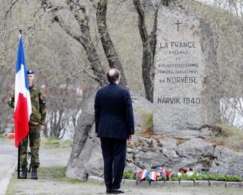 Slik ble kampene i Narvik markert
