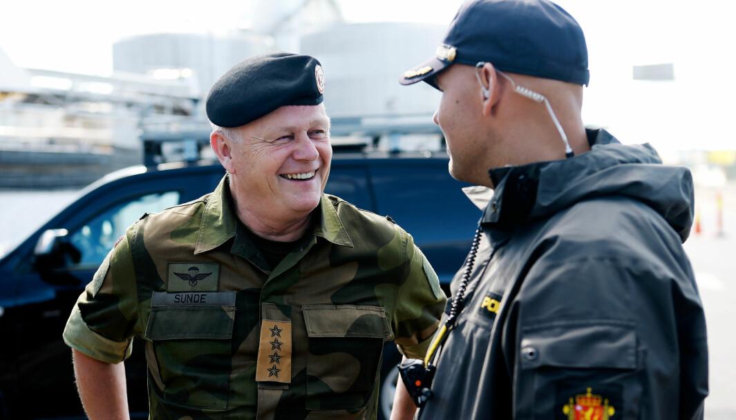 Harald Sunde var forsvarssjef fra 2009 til 2013.