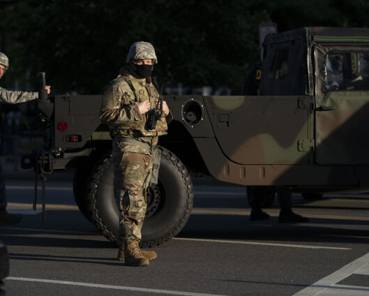 Snur etter møte i Det hvite hus: Soldater blir ved hovedstaden
