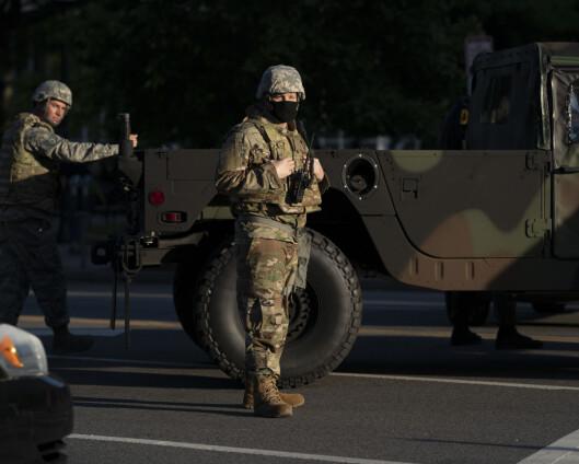 Pentagon har flyttet 1.600 soldater til Washington D.C.