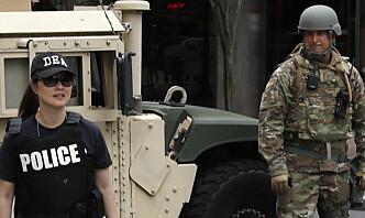 Narkotikapolitiet DEA får overvåke demonstranter