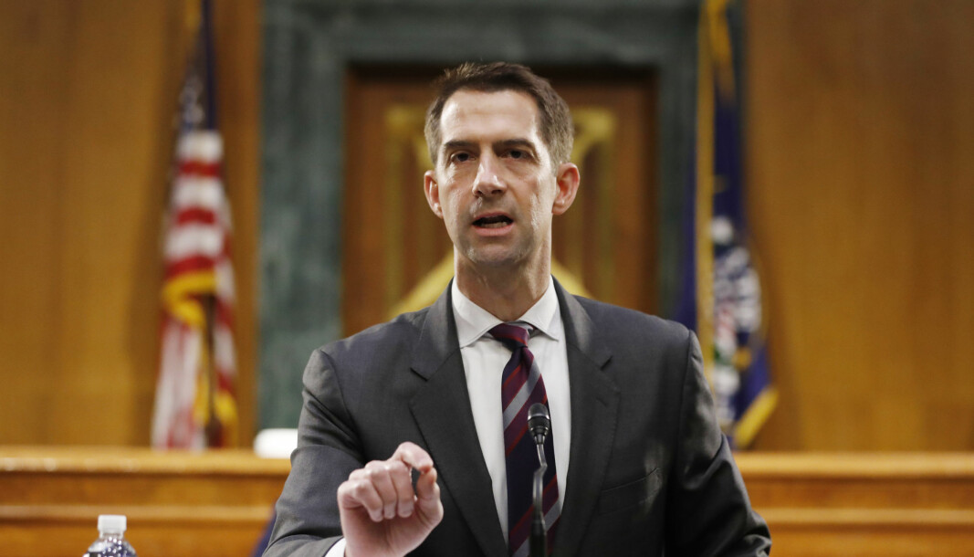 Den amerikanske senatoren Tom Cotton.