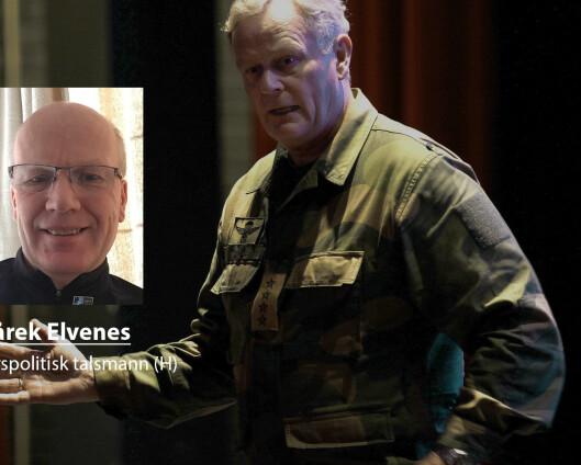 – Harald Sunde tar feil om stridsvogner