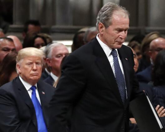 Kjente republikanere vender ryggen til Trump før valget