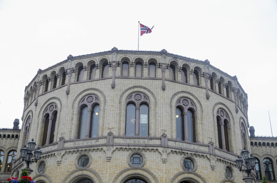 Stortinget fredag ettermiddag