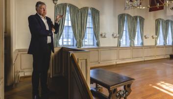 Ole Rikard Høisæther er styreleder i stiftelsen «Den Gamle Krigsskole»