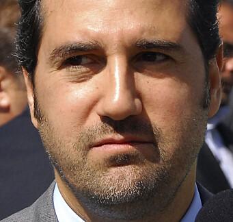 Rami Makhlouf, søskenbarnet til president Bashar al-Assad og en av landets rikeste businessmenn - her fotografert i 2008.