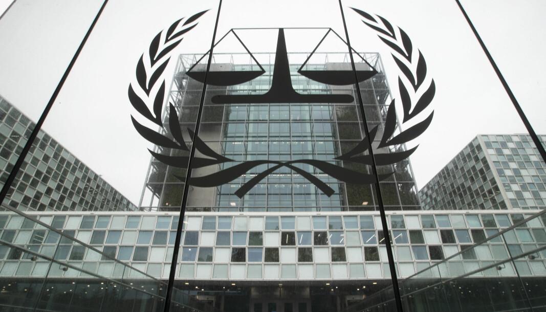 Den internasjonale straffedomstolen (ICC) i Haag, Nederland.