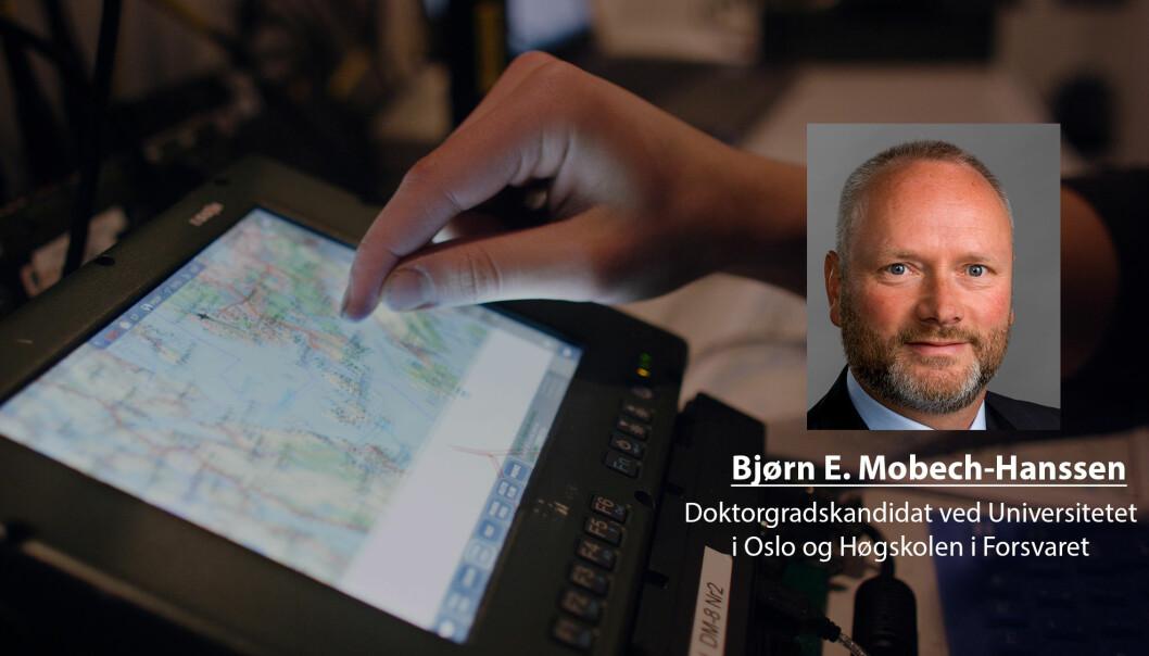 I ytterste fall kan vi risikere at Forsvarets kommunikasjons- og kampsystemer settes ut av spil, skriver Bjørn E. Mobech-Hanssen.
