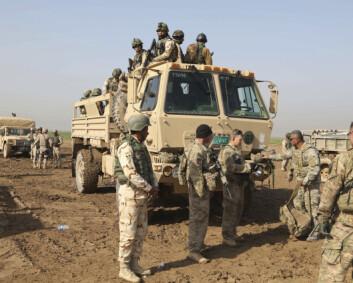 USA varsler tilbaketrekking av soldater fra Irak