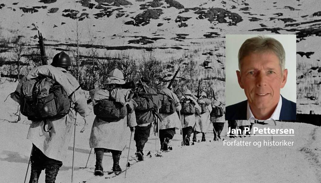 Fremrykningen til franskmennene gikk svært trått inntil den stoppet opp, skriver Jan P. Pettersen som tar for seg kampene i Narvik. Her ser vi franske alpejegere under krigen.