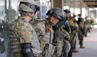 Nasjonalgarden skal bistå med trygdeutbetaling i Washington