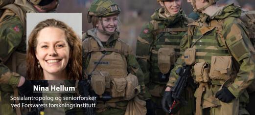 – Militær kultur kan hjelpe oss å takle kriser