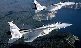 Amerikansk jagerfly styrtet i Nordsjøen