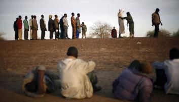 På grensa mellom Niger og Mali. AQIM får mykje merksemd i den fransktalande delen av Afrika.