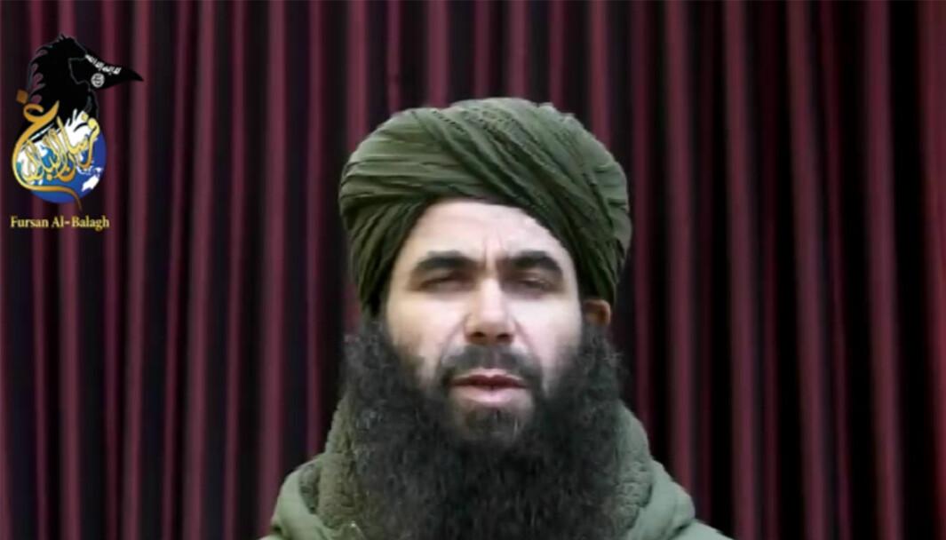 Abdelmalek Droukdel vart drepen førre veke.