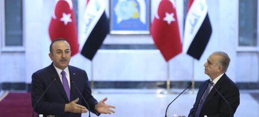 Tyrkiske bakkestyrker inn i Nord-Irak