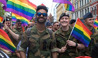 – Forsvaret skal være for inkludering, mangfold og toleranse. Det må vi vise i praksis
