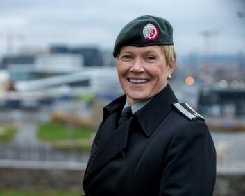 Geirhild Snildal Engen blir stabsoffiser i SHAPE
