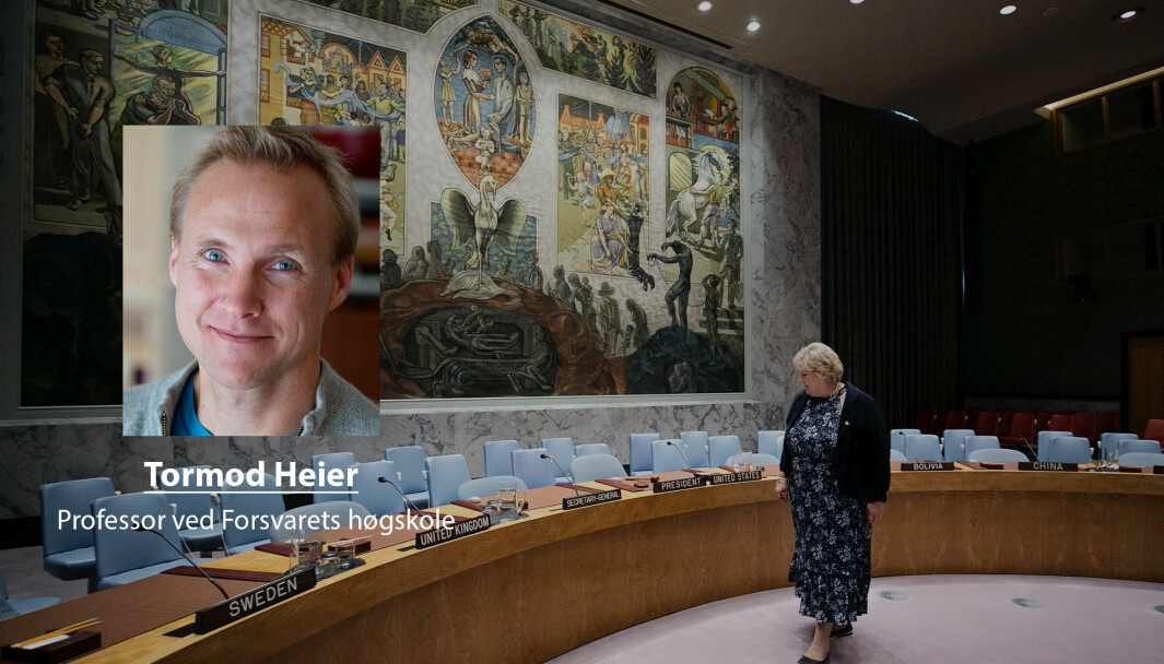 Medlemskapet FNs sikkerhetsråd er en fjær i hatten til norske myndigheter, men det kommer ikke uten forpliktelser, skriver Tormod Heier.