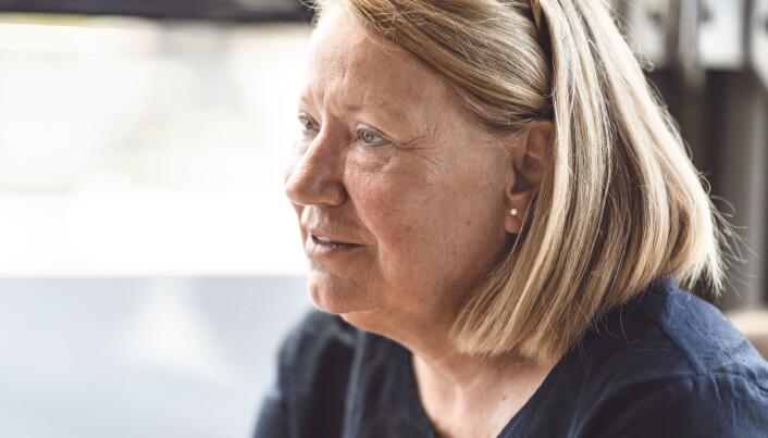 – Kvinner må ta ansvar selv for å tre fram og ta plass, sier Britt Tove Berg Brestrup.