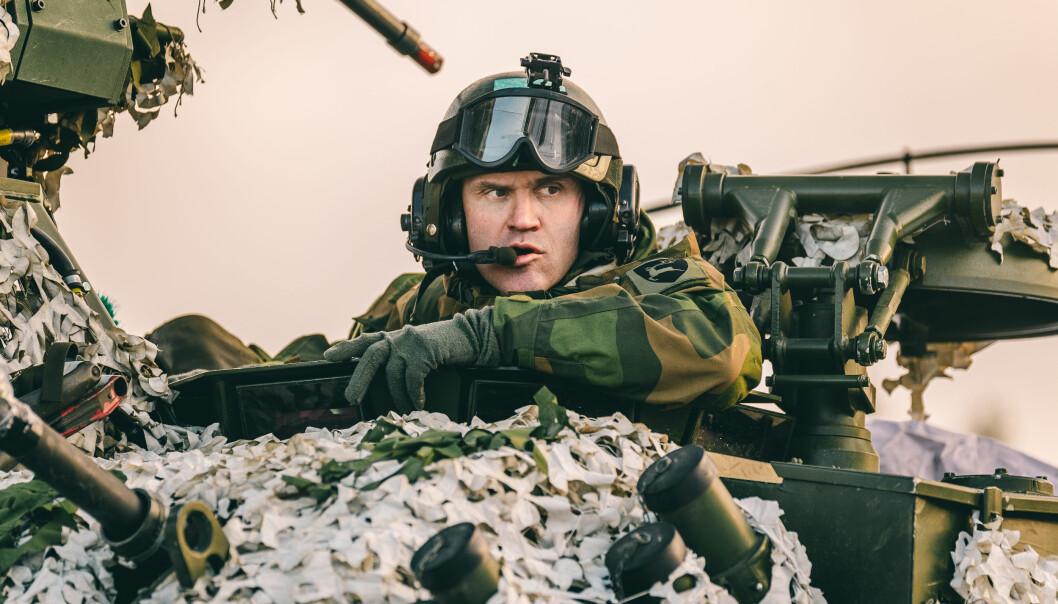 Lars Lervik avbildet under Trident Juncture i 2018.