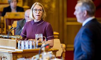 Huitfeldt: - Ansvaret her ligger til sjuende og sist hos forsvarsministeren