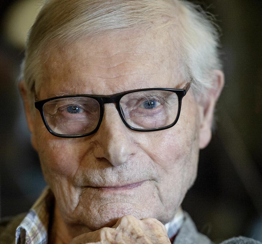 Motstandsmannen Johan Solberg ble 98 år gammel.