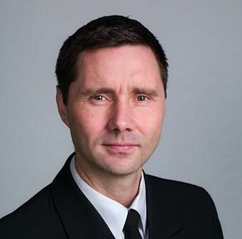 Kim Sabel, leder for Krigsskole utdannede offiserers landsforening.