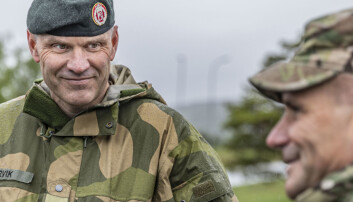 USAs hærsjef i Europa besøkte Norge - diskuterte luftvern med hærsjefen
