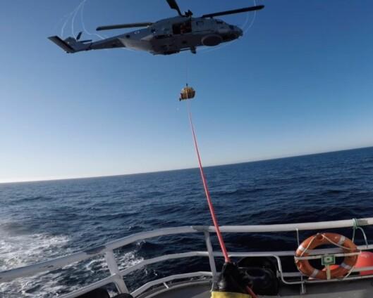 Tilfeldigheter reddet skadet fisker