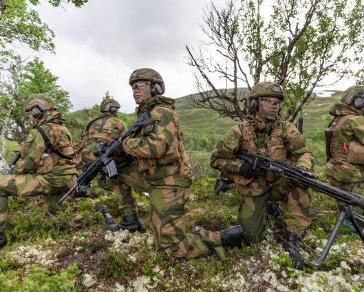 8 av 10 mener norske soldater gjør en god innsats
