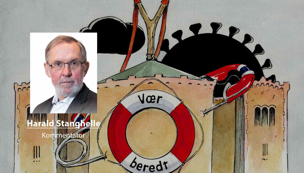 Fremtidens velgere vil takke de politikerne som bidrar til å heve beredskapen i samfunnet, skriver Harald Stanghelle.