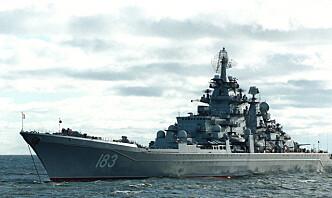 Den russiske Nordflåten driver kamptrening i Barentshavet