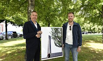 Avdukes 8. mai 2021: Slik blir det nye monumentet