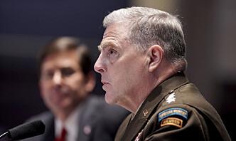 USAs forsvarssjef open for å endre namn på basar