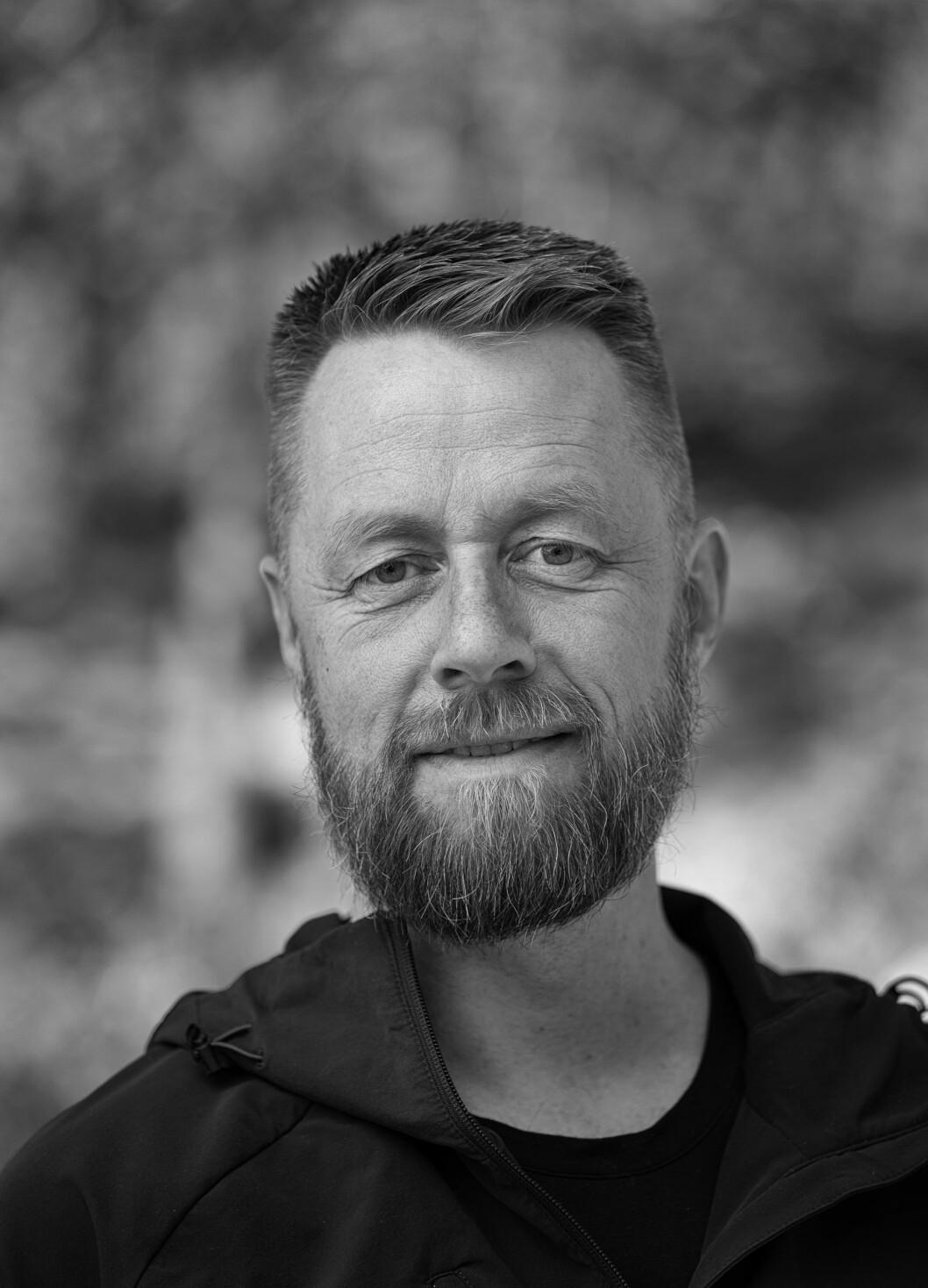 Geir Aker, for tiden kjent som fenriken fra TV 2s realityserie Kompani Lauritzen.