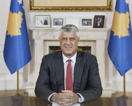 Kosovos president møter i krigsforbryterdomstol i Haag