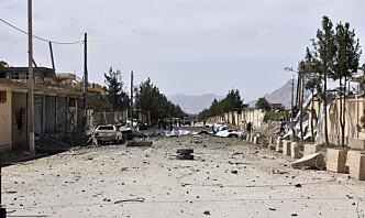 Minst tolv politifolk drept i to angrep i Afghanistan