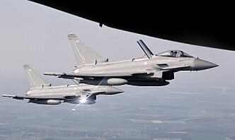 RAF bombet IS-huler i Nord-Irak
