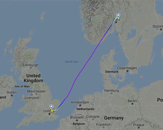 Britisk statsborger anholdt etter bombetrussel mot Ryanair-fly