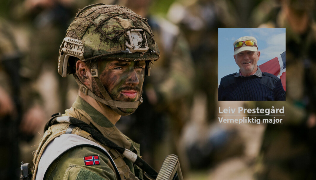 Telemark bataljon utdanner nye tilsatte.